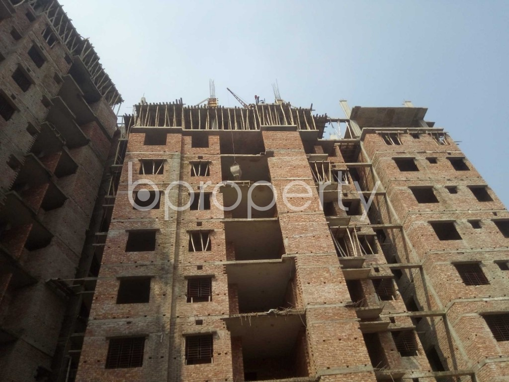 Outside view - 3 Bed Apartment for Sale in Badda, Dhaka - 1936298