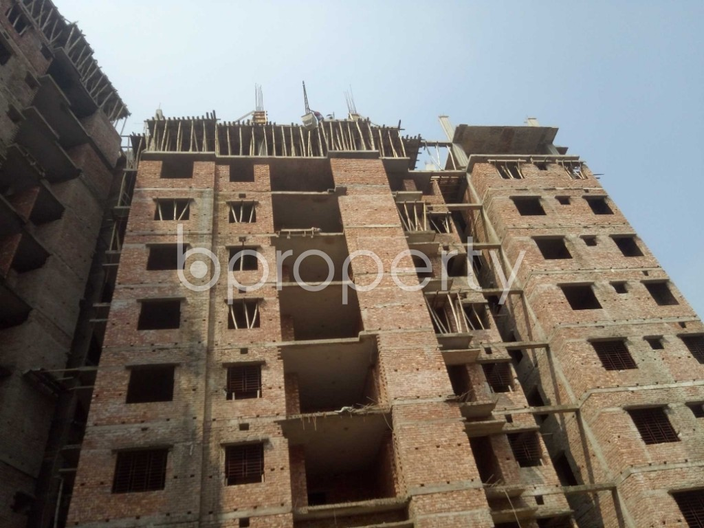 Outside view - 3 Bed Apartment for Sale in Badda, Dhaka - 1936299