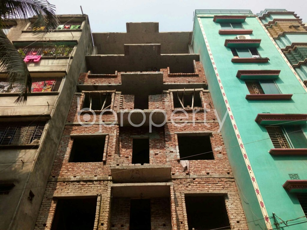 Front view - 2 Bed Apartment for Sale in Mirpur, Dhaka - 1936339