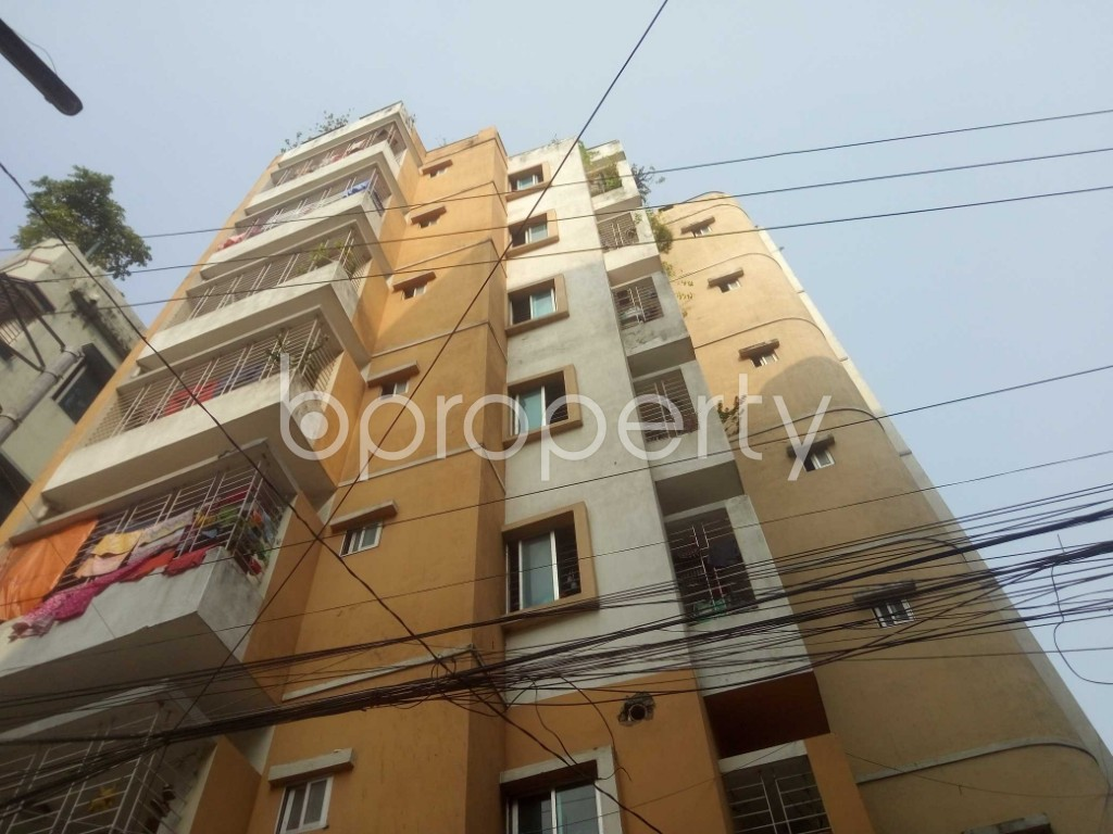 Front view - 3 Bed Apartment for Sale in Mirpur, Dhaka - 1936367