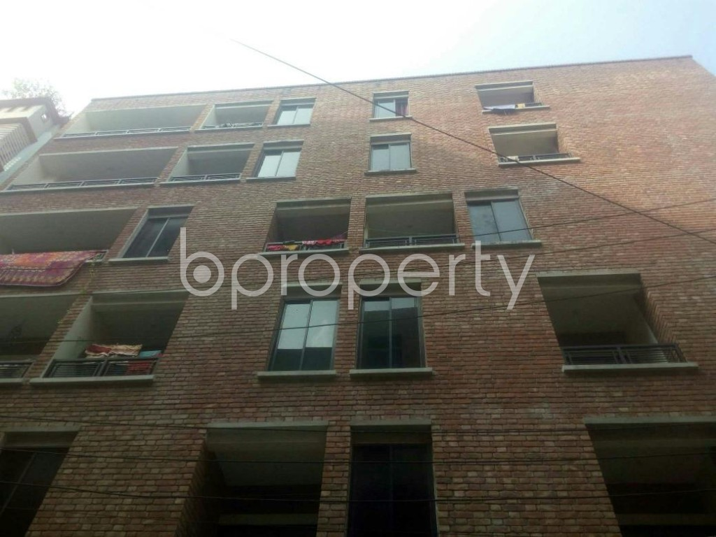 Front view - 3 Bed Apartment to Rent in Rampura, Dhaka - 1936373