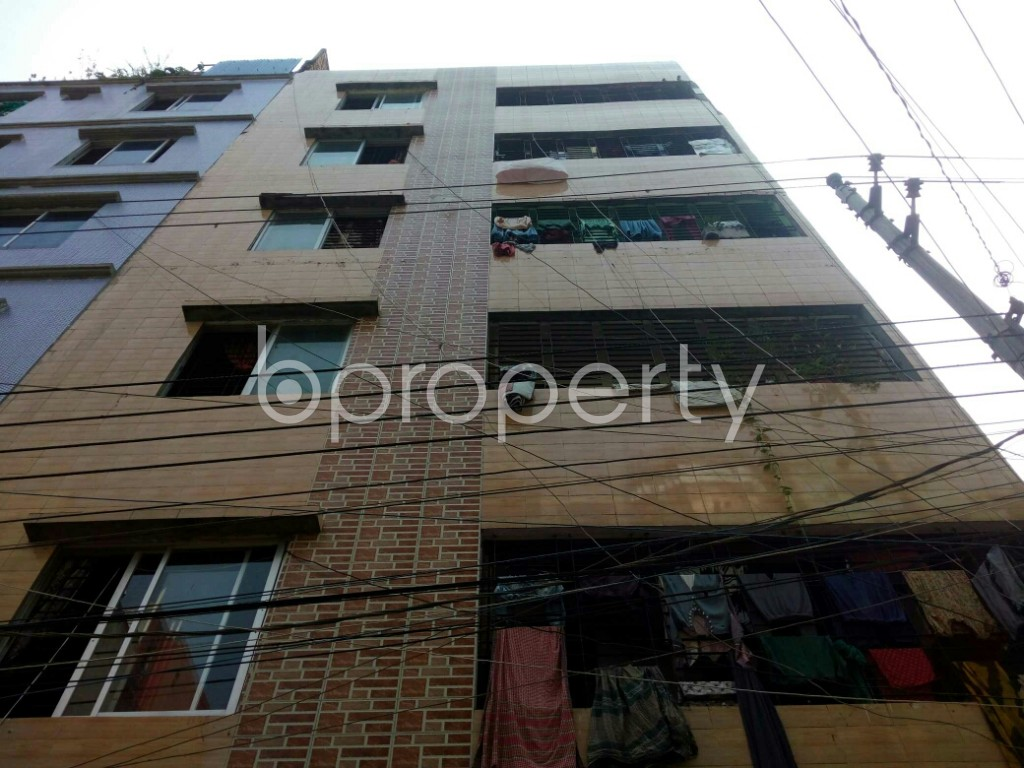 Front view - 2 Bed Apartment for Sale in Mirpur, Dhaka - 1936376