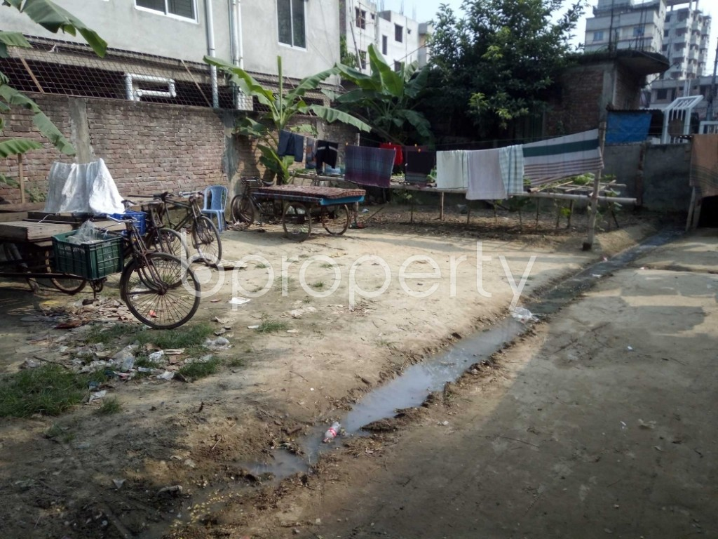 Outside view - Plot for Sale in Badda, Dhaka - 1936457