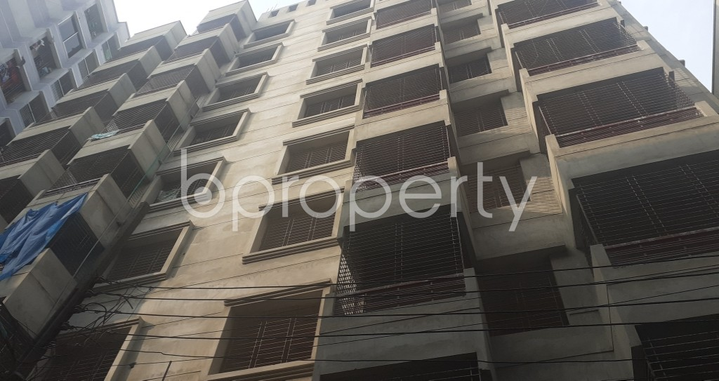 Front view - 3 Bed Apartment for Sale in Mohammadpur, Dhaka - 1937034