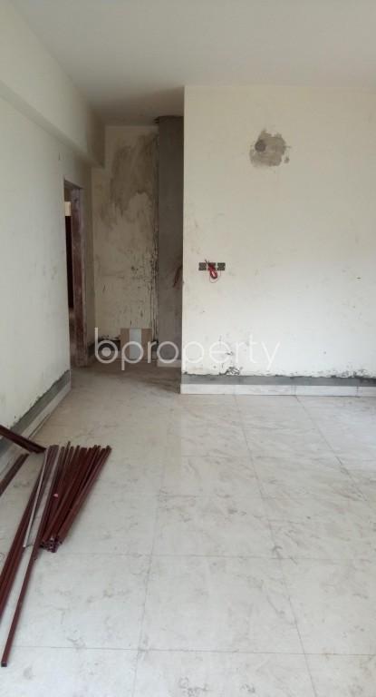 Bathroom - 2 Bed Apartment for Sale in Badda, Dhaka - 1937388