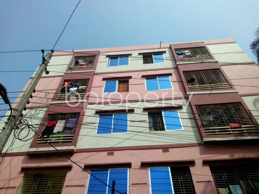 Front view - 3 Bed Apartment for Sale in Gangchor Road, Cumilla - 1937397