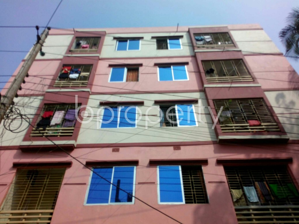 Front view - 3 Bed Apartment for Sale in Gangchor Road, Cumilla - 1937398