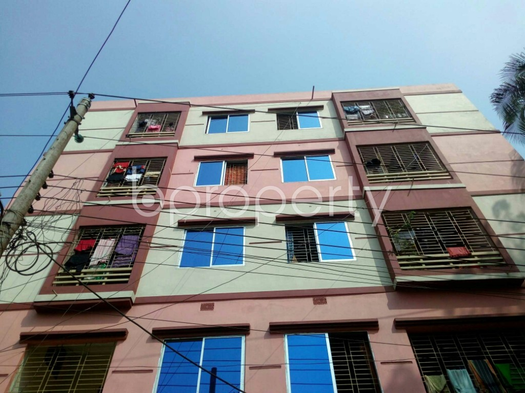 Front view - 3 Bed Apartment for Sale in Gangchor Road, Cumilla - 1937399