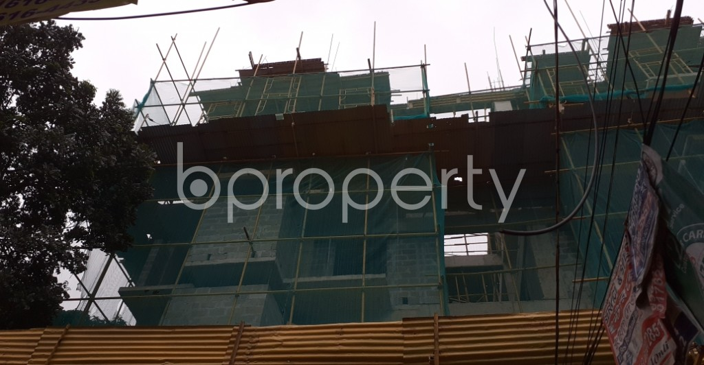 Outside view - 3 Bed Apartment for Sale in Kalabagan, Dhaka - 1936811