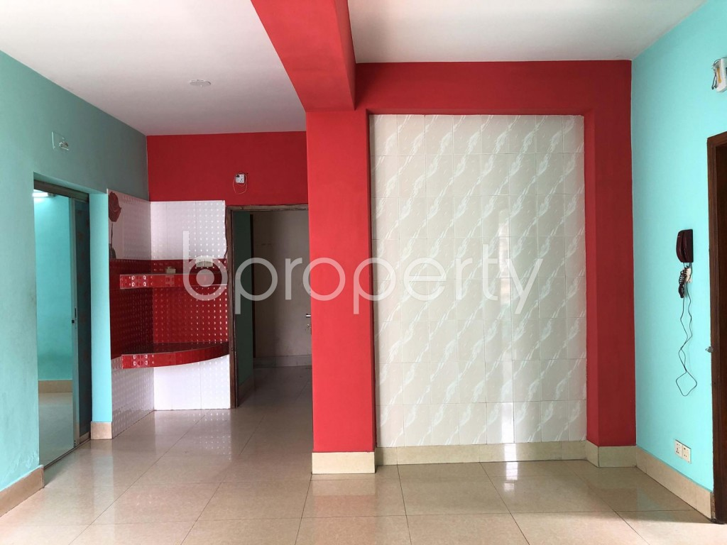 Dining area - 3 Bed Apartment for Sale in Dhanmondi, Dhaka - 1899752
