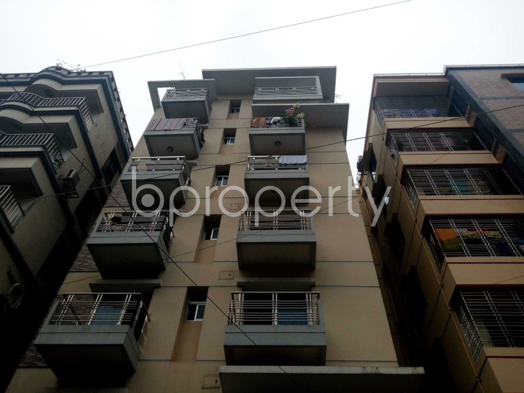 Front view - 3 Bed Apartment for Sale in Uttara, Dhaka - 1937473