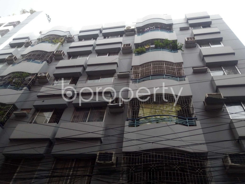 Front view - 3 Bed Apartment for Sale in Dhanmondi, Dhaka - 1937475
