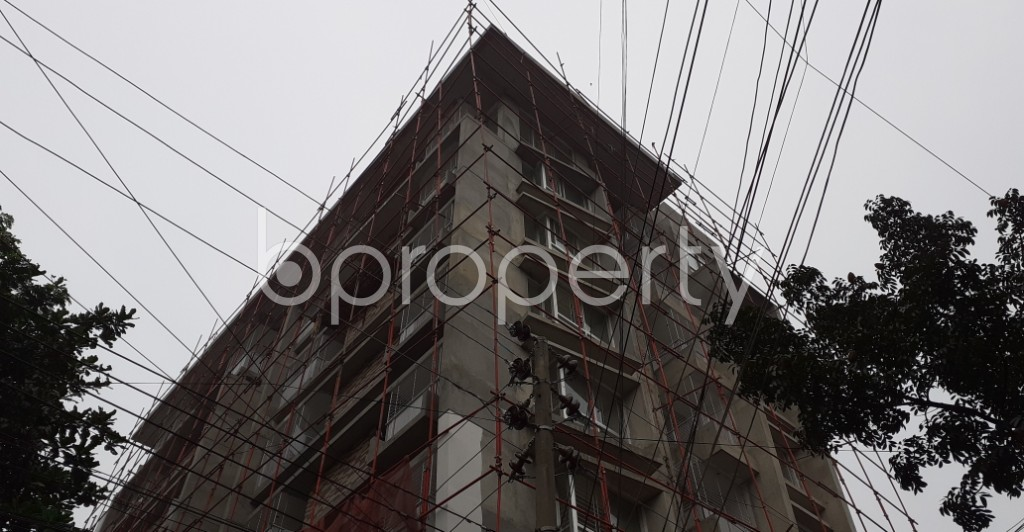 Front view - 3 Bed Apartment for Sale in Uttara, Dhaka - 1937477