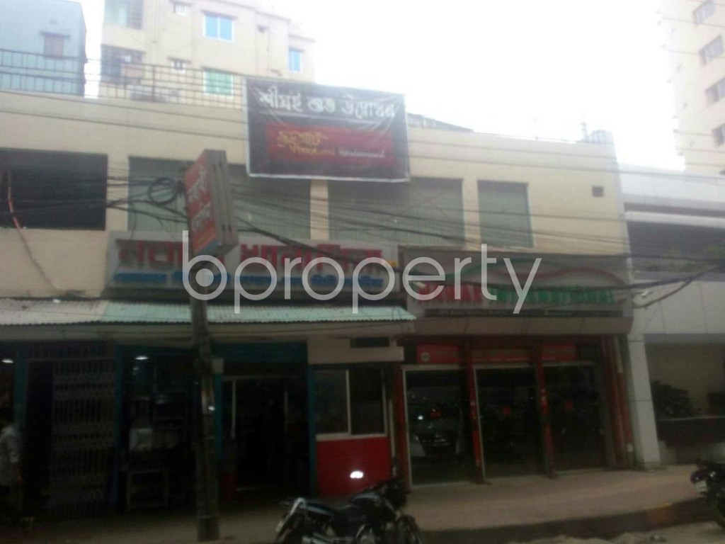 Front view - Plot for Sale in Malibagh, Dhaka - 1937487