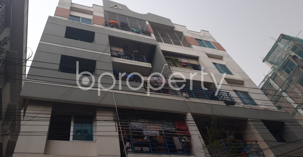 Outside view - 3 Bed Apartment to Rent in Lalmatia, Dhaka - 1937506