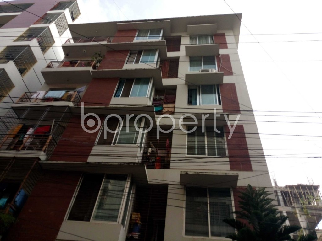 Front view - 3 Bed Apartment for Sale in Halishahar, Chattogram - 1937607
