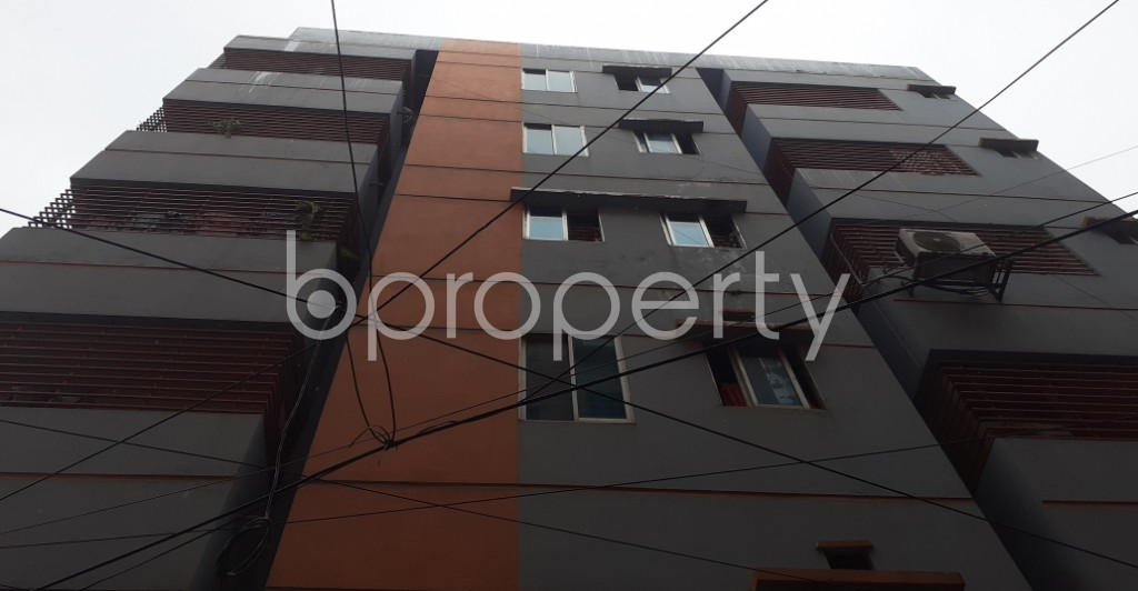 Front view - 3 Bed Apartment for Sale in Mohammadpur, Dhaka - 1938052