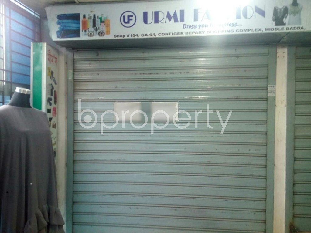 Front view - Shop for Sale in Badda, Dhaka - 1938062