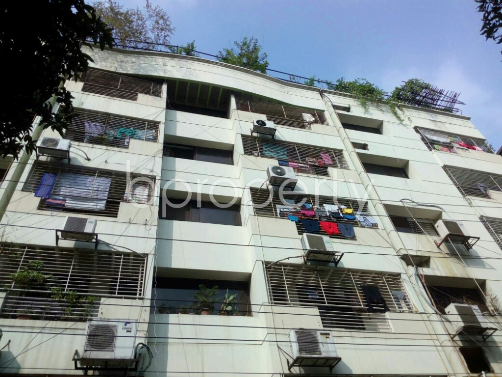 Front view - 3 Bed Apartment for Sale in Banani DOHS, Dhaka - 1938659