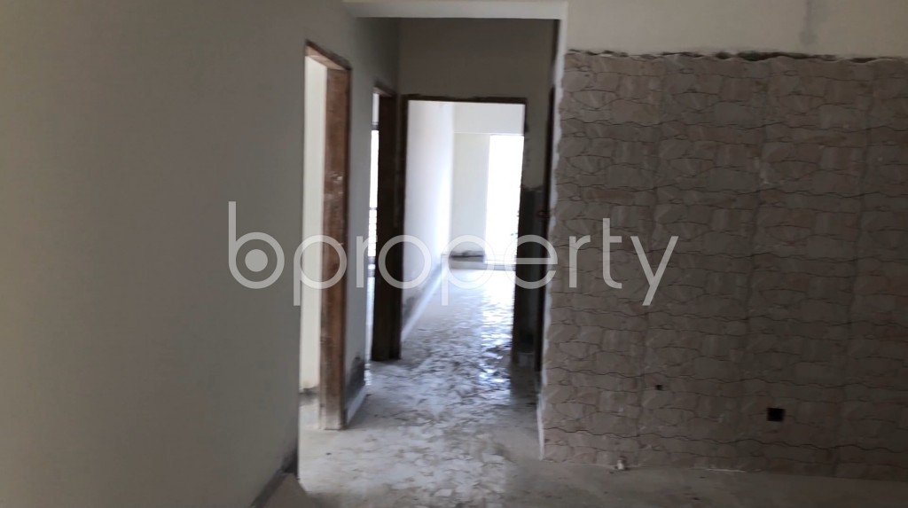 Empty Room - 3 Bed Apartment for Sale in Badda, Dhaka - 1912667