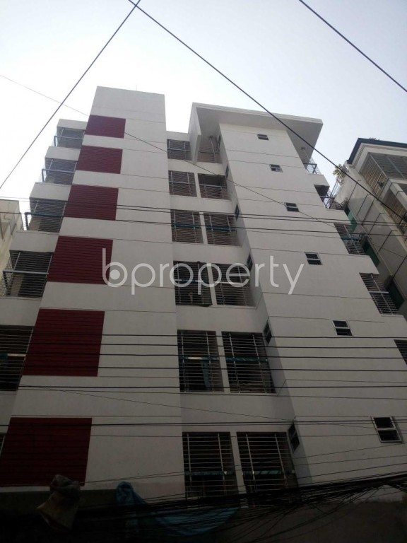 Front view - 3 Bed Apartment for Sale in Uttara, Dhaka - 1939848