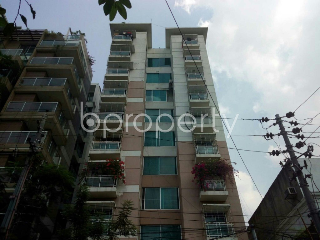 Front view - 3 Bed Apartment to Rent in Banani, Dhaka - 1939992