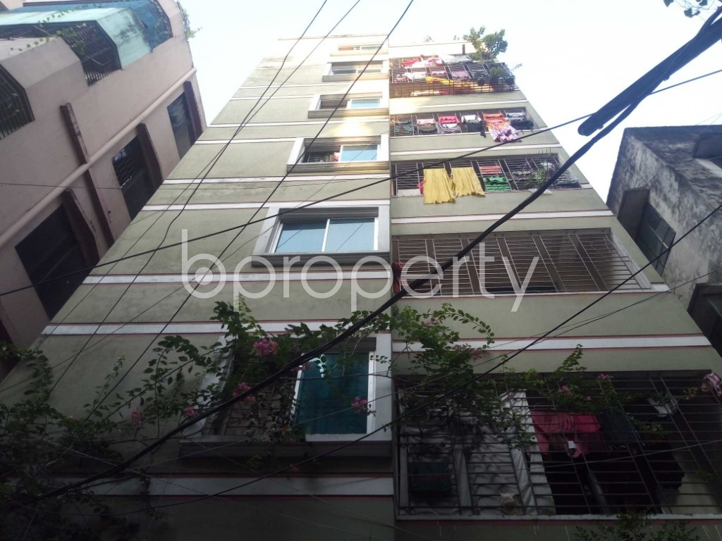 Outside view - 3 Bed Apartment for Sale in Maghbazar, Dhaka - 1940055