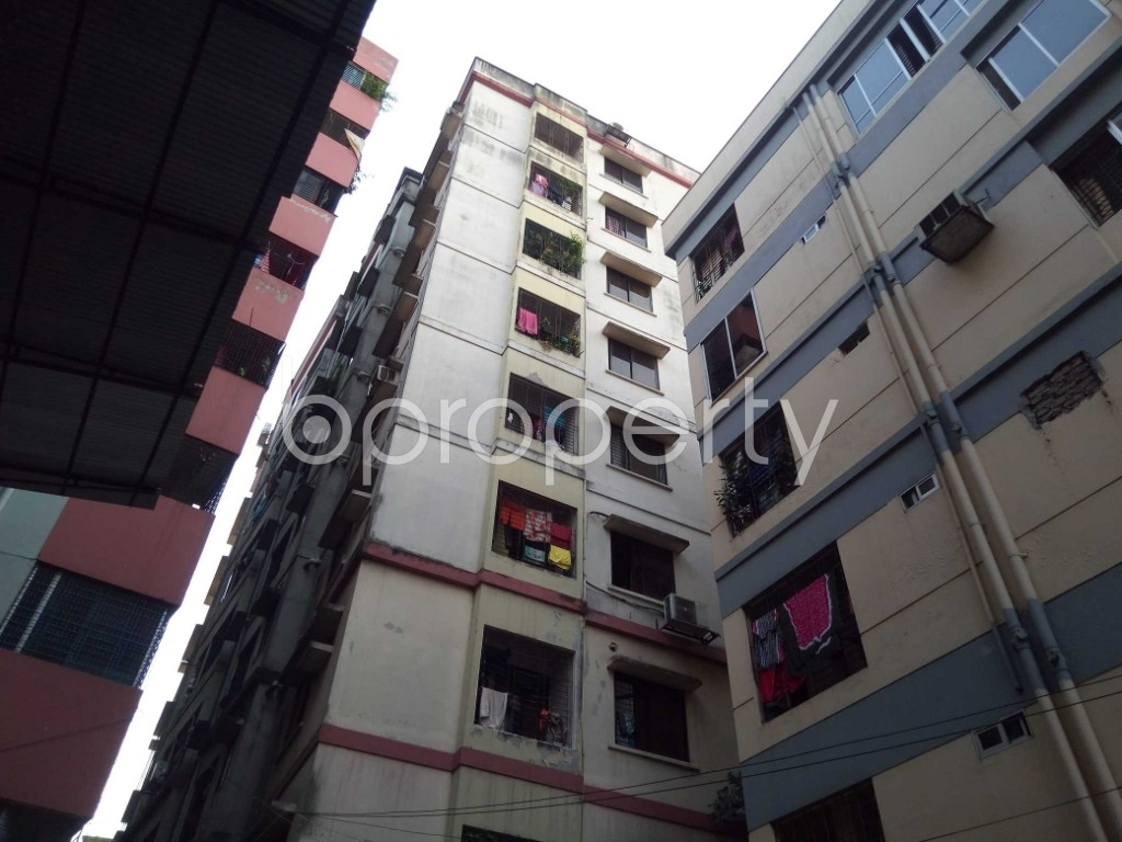 Outside view - 3 Bed Apartment for Sale in Maghbazar, Dhaka - 1940056