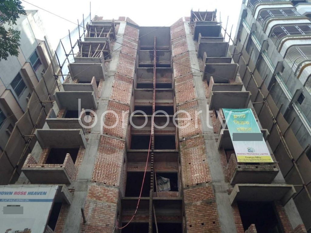 Front view - 3 Bed Apartment for Sale in Uttara, Dhaka - 1940235