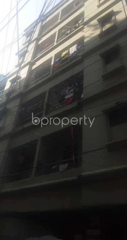 Front view - 2 Bed Apartment for Sale in Mohammadpur, Dhaka - 1940259