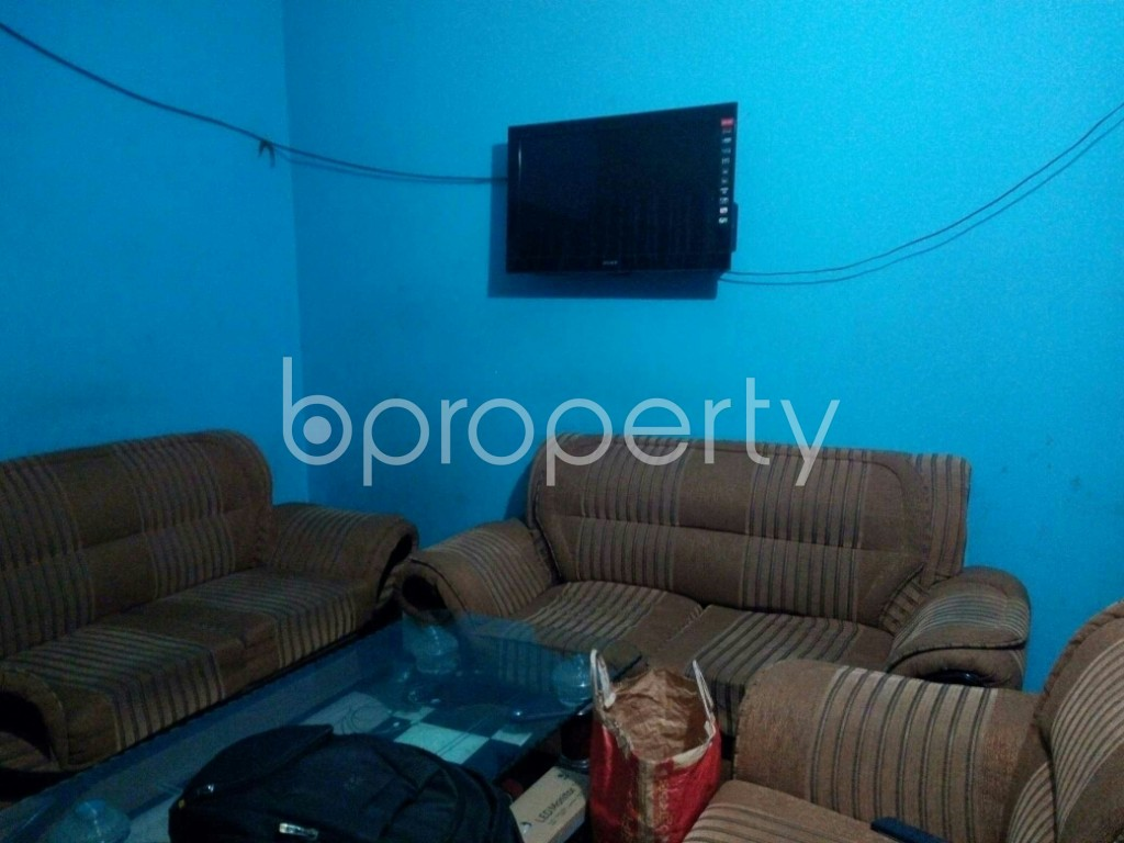 Dining area - 3 Bed Apartment for Sale in Bayazid, Chattogram - 1940557