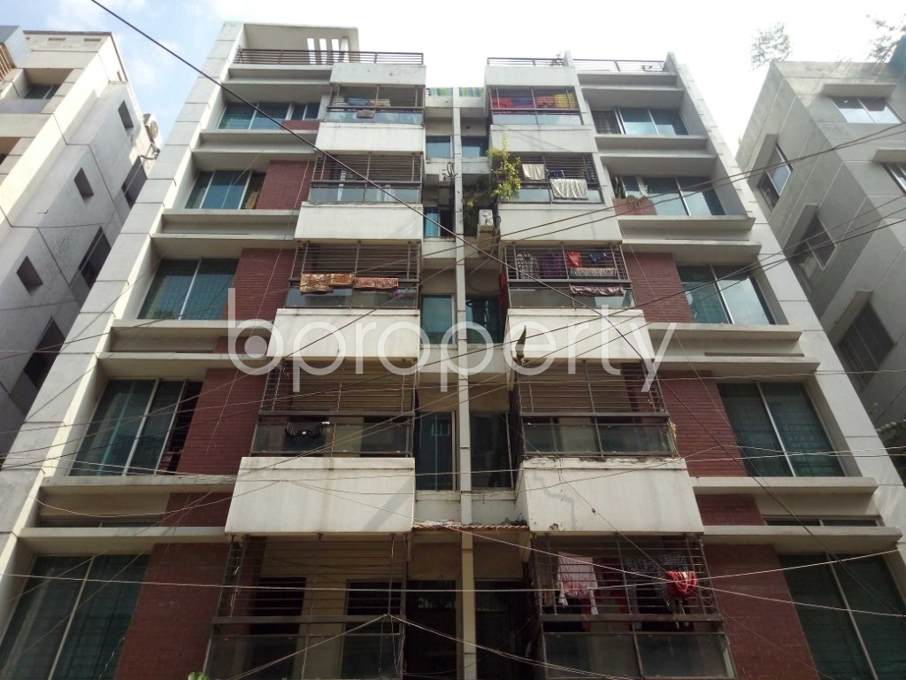 Front view - 3 Bed Apartment for Sale in Uttara, Dhaka - 1940632