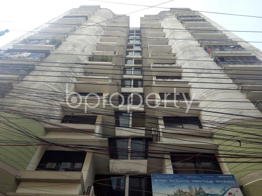 Front view - 3 Bed Apartment for Sale in Uttara, Dhaka - 1940693