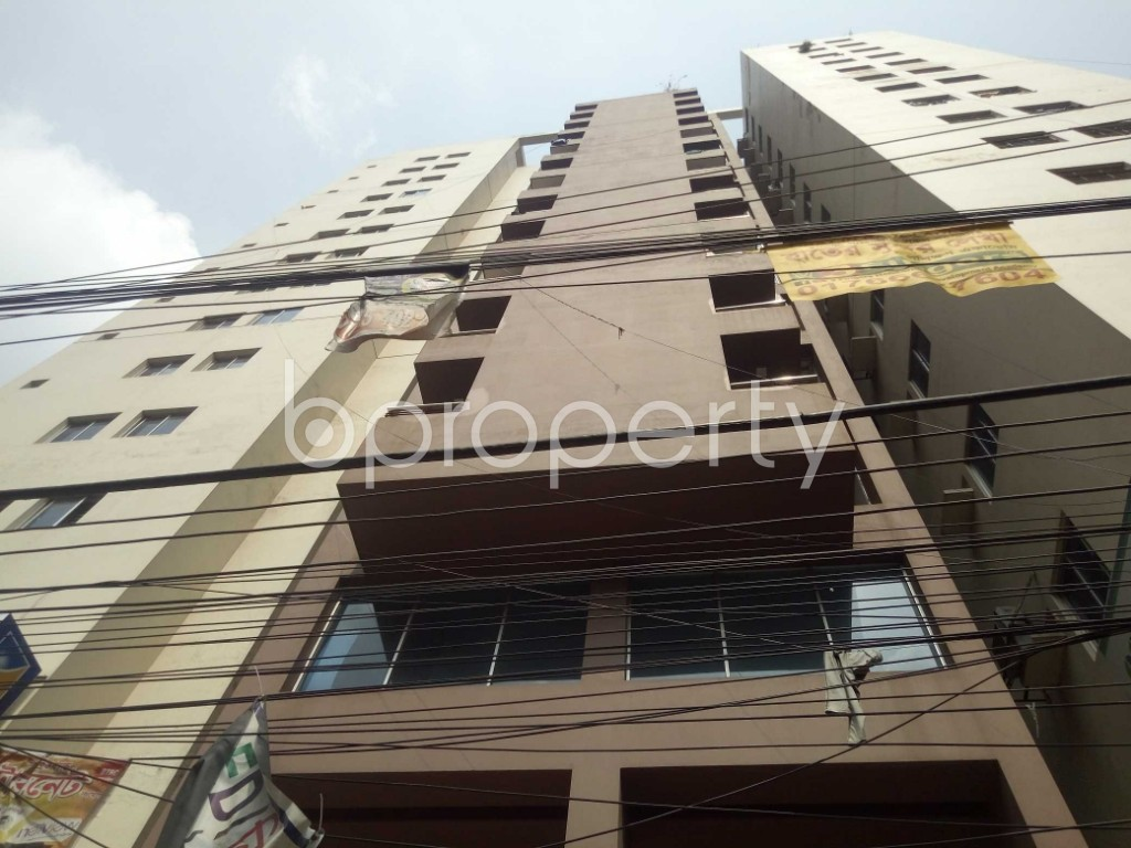 Outside view - 3 Bed Apartment for Sale in Maghbazar, Dhaka - 1940698