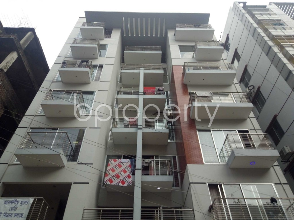 Front view - 3 Bed Apartment for Sale in Uttara, Dhaka - 1940740