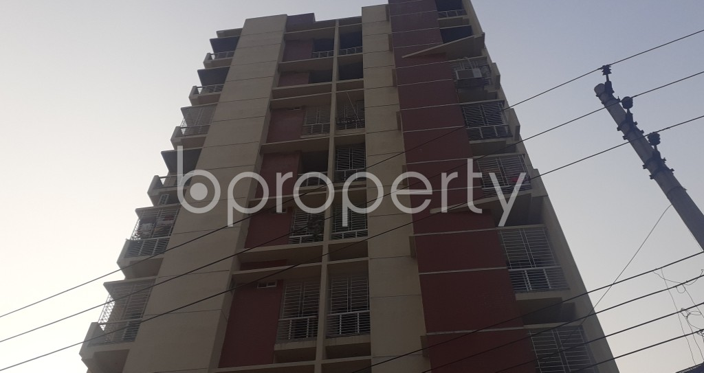Front view - 3 Bed Apartment for Sale in Mohammadpur, Dhaka - 1940827