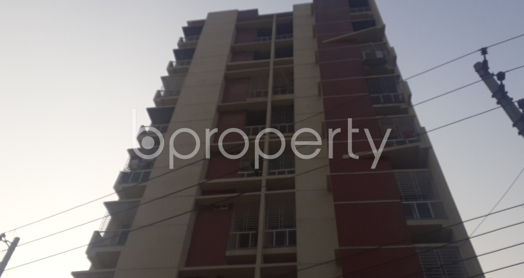 Front view - 3 Bed Apartment for Sale in Mohammadpur, Dhaka - 1940828