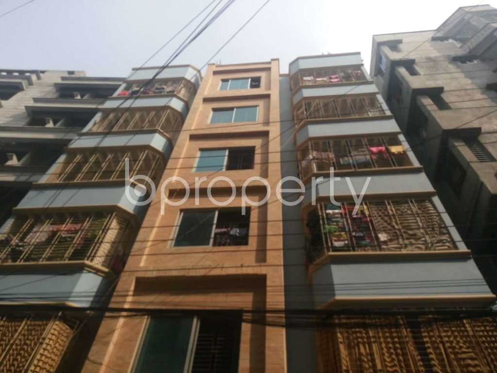 Front view - 2 Bed Apartment to Rent in Kalachandpur , Dhaka - 1940860