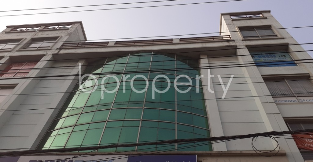 Front view - Floor for Sale in Dhanmondi, Dhaka - 1940907