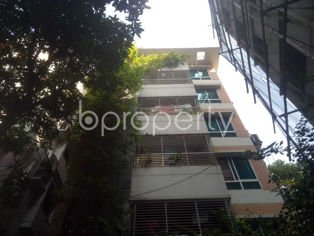 Front view - 4 Bed Apartment to Rent in Baridhara DOHS, Dhaka - 1940978