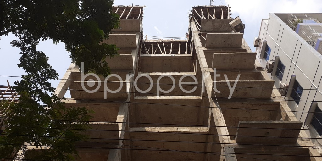 Front view - 3 Bed Apartment for Sale in Bashundhara R-A, Dhaka - 1941266