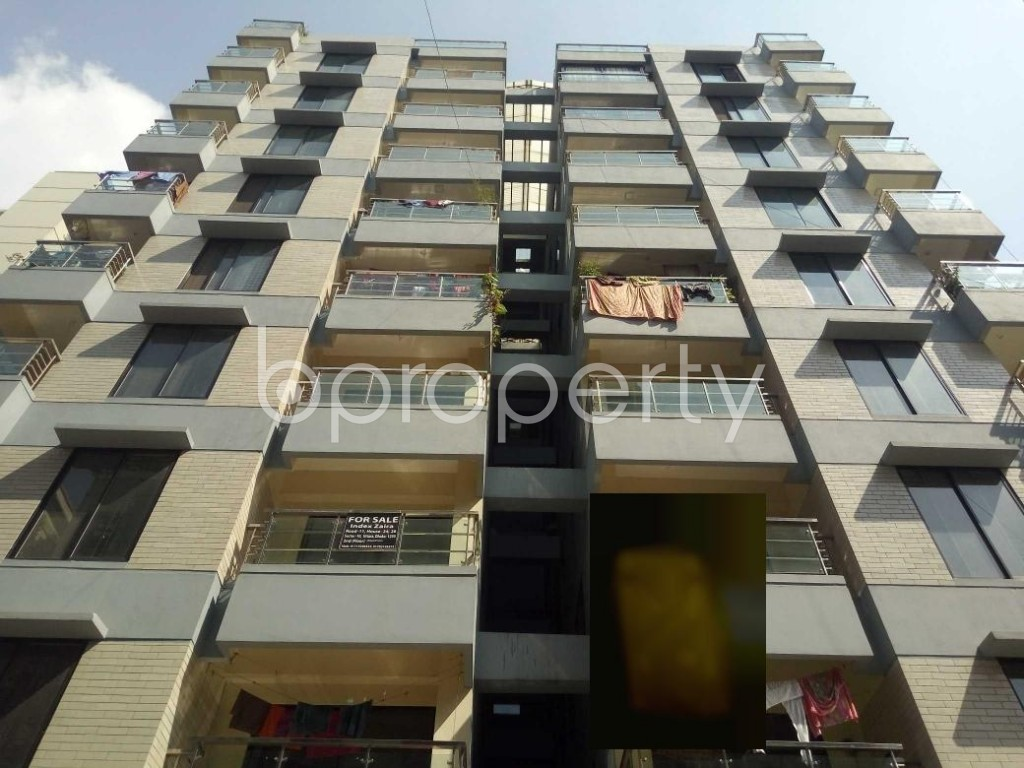 Front view - 3 Bed Apartment for Sale in Uttara, Dhaka - 1941293