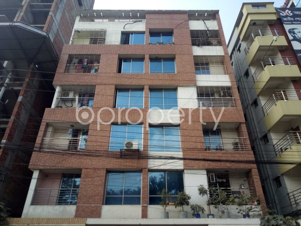 Front view - 2 Bed Apartment for Sale in Uttara, Dhaka - 1941296