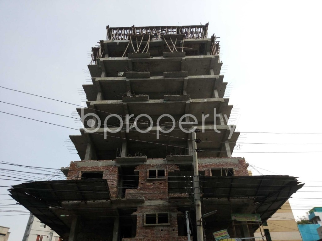 Front view - 2 Bed Apartment for Sale in Mirpur, Dhaka - 1941332