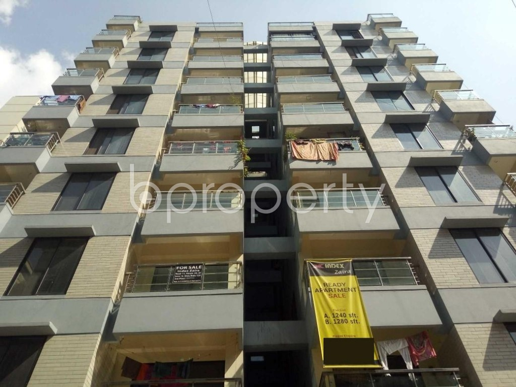 Front view - 3 Bed Apartment for Sale in Uttara, Dhaka - 1941411