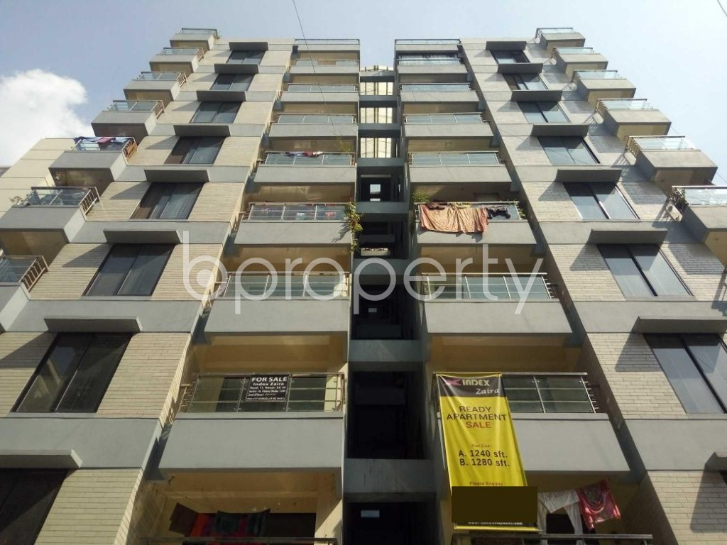Front view - 3 Bed Apartment for Sale in Uttara, Dhaka - 1941412