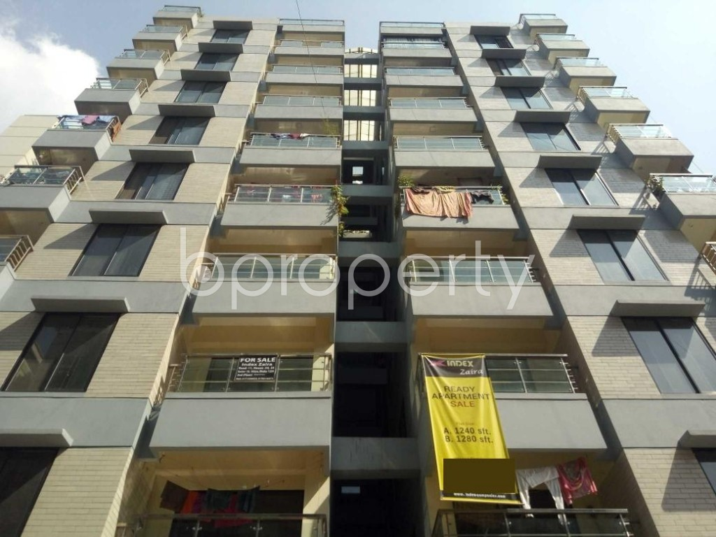 Front view - 3 Bed Apartment for Sale in Uttara, Dhaka - 1941414