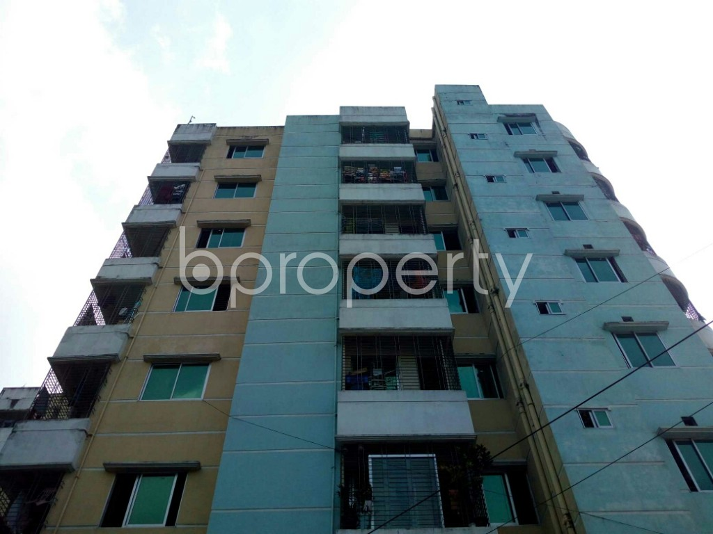Front view - 3 Bed Apartment for Sale in Double Mooring, Chattogram - 1941540