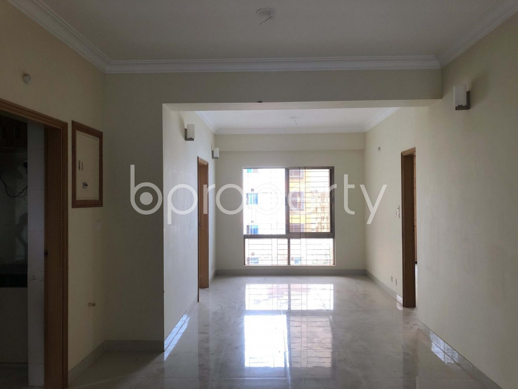 Dining area - 3 Bed Apartment to Rent in Bashundhara R-A, Dhaka - 1938830