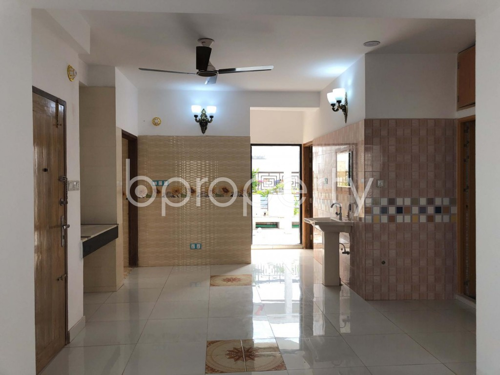 Dining area - 2 Bed Apartment for Sale in Bashundhara R-A, Dhaka - 1933813